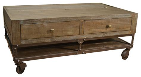 industrial lift top coffee crafters and weavers greenview lift top coffee table
