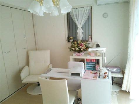 small space home nail salon set  idea nail technician