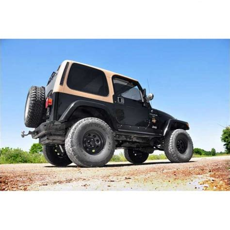 Lift Kit For A Jeep Country 4 Quot Suspension Lift Kit For Jeep Tj Wrangler