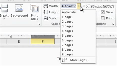 excel page layout view not working how to disable page setup in excel 2007 where is fit to