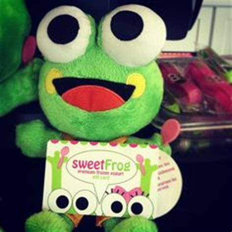 How To Check Your Sweet Frog Gift Card Balance - 1000 images about inside the store on pinterest frogs frozen yogurt and frozen
