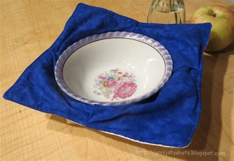sewing pattern bowl holder tutorial flat out microwave bowl holder sewing