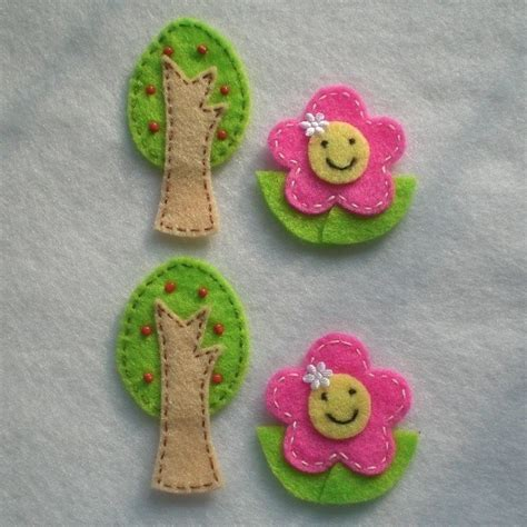 trees felt applique and the o jays on 98 best images about crochet hat appliques on