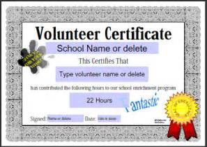 volunteer appreciation certificates free templates free editable attendance certificates new calendar