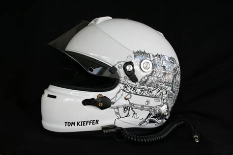 Aufkleber Helm Dekor by Helmdesign Irace Design