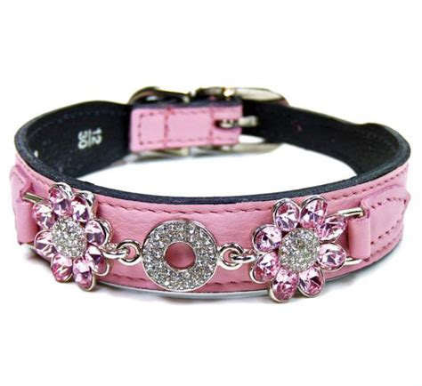 unique collars diamonds luxury leather collars
