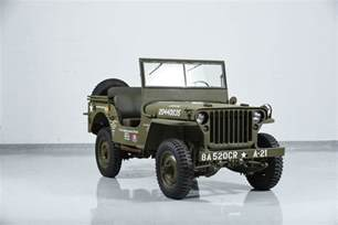Jeep Willie 1941 Jeep Willys Mb Motorcar Classics