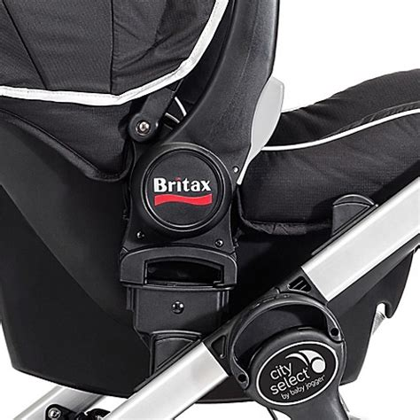 britax b safe car seat adapter for bob baby jogger 174 city select versa stroller adaptor for britax