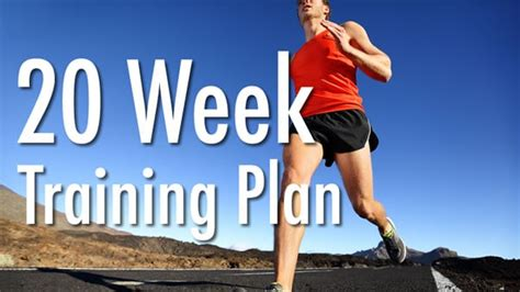 running your marathon the complete 20 week marathon plan books 20 week half marathon schedule halfmarathons net