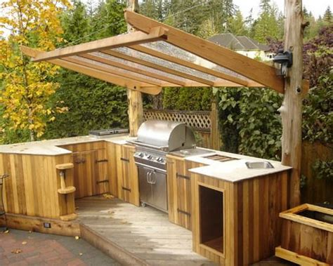 Inexpensive Outdoor Kitchen Ideas | great ideas of cheap outdoor kitchen grill patio ideas