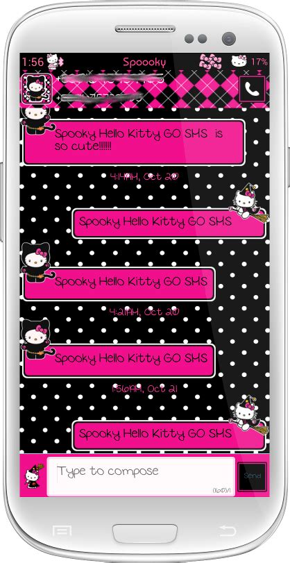 theme hello kitty go keyboard pretty droid themes october 2013