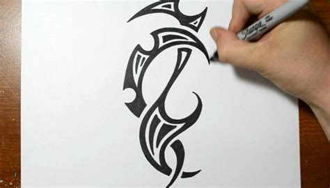 draw tribal tattoos the gallery for gt cool tattoos designs to draw