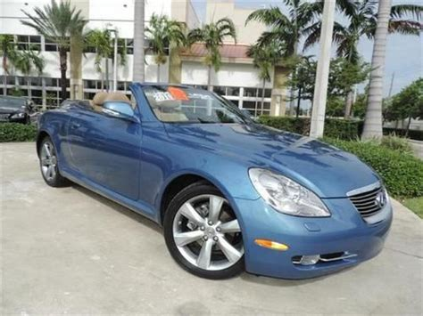used lexus sc430 for sale in florida buy used 2010 lexus sc430 convertible cert pre owned low