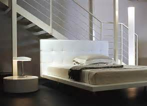 minimalist designs modern bedroom furniture interior picturesque white vinyl headboard large size platform bed