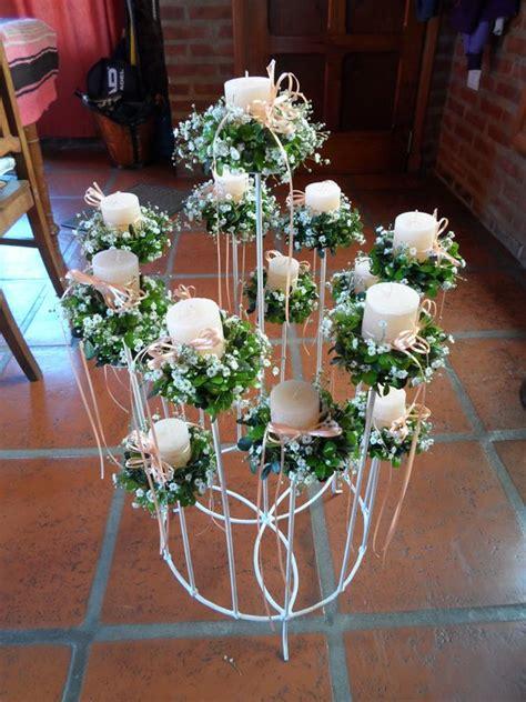 velas y candelabros candelabro 15 velas ceremonia de las velas
