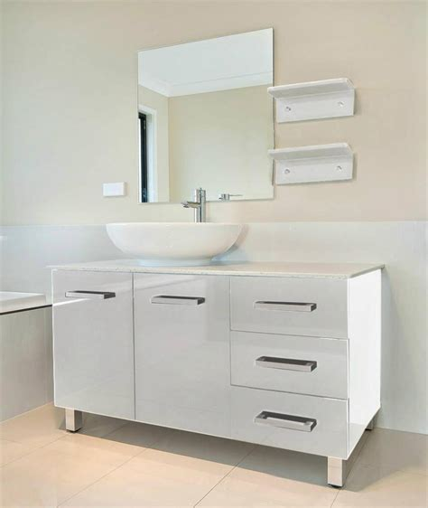 Cost To Install Bathroom Vanity by Bathroom Vanity Unit Top White Cabinet Set 1200mmw