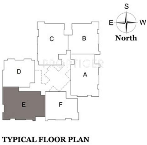 lakeshore floor plan 1209 sq ft 2 bhk 2t apartment for sale in bhaggyam