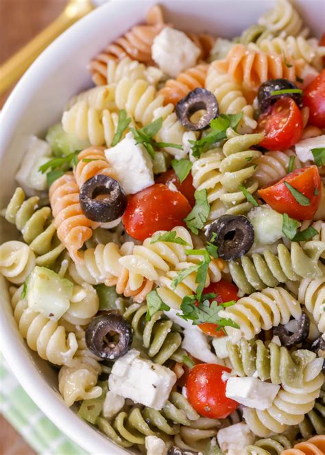 what is pasta salad recipe for greek vinaigrette salad dressing my favorite