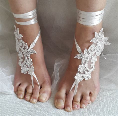 bridal accessories ivory wedding sandals shoes