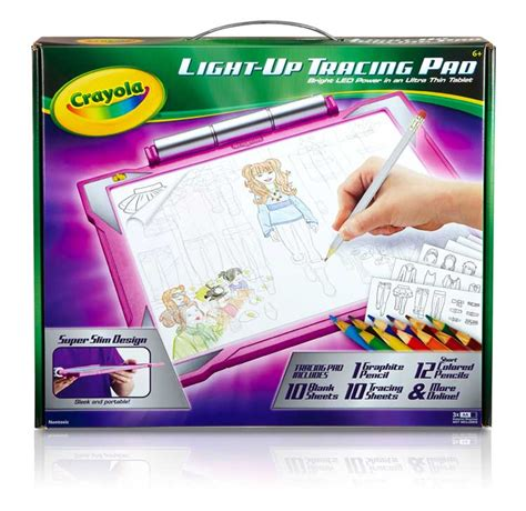 light up tracing desk crayola light up tracing pad pink led preschool