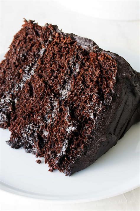 ate chocolate cake the most amazing chocolate cake thestayathomechef