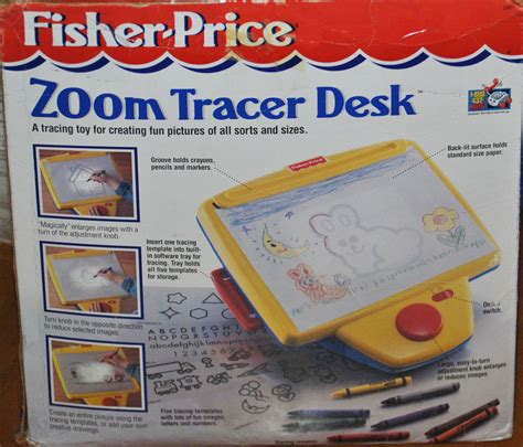 fisher price drawing desk 2861 72861 zoom tracer desk