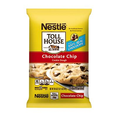 nestle toll house cookie dough tub toll house 174 product page morsels and baking ingredients refrigerated cookie dough