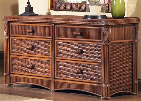 furniture gt bedroom furniture gt chest gt 6 drawer wicker chest