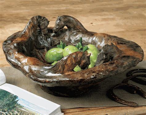 horse sculpture bowl