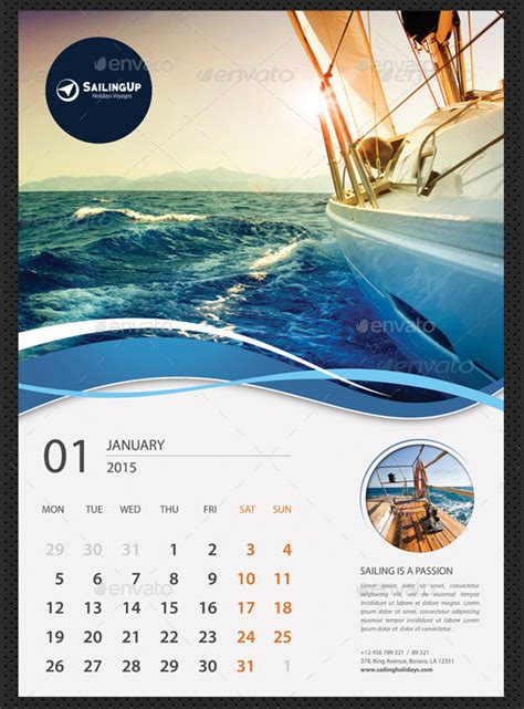 Calendar Designs Templates by 25 Best 2016 Calendar Templates To Print Free Premium
