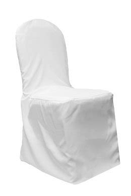 Paper Chair Covers For Folding Chairs - blowout white banquet polyester fabric chair cover