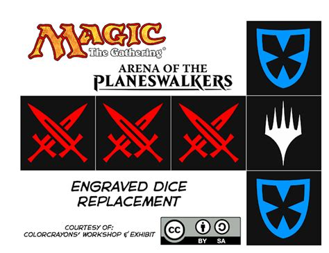Arena Of The Planeswalkers Card Templates Mse by Colorcrayons Workshop Exhibit Arena Of The