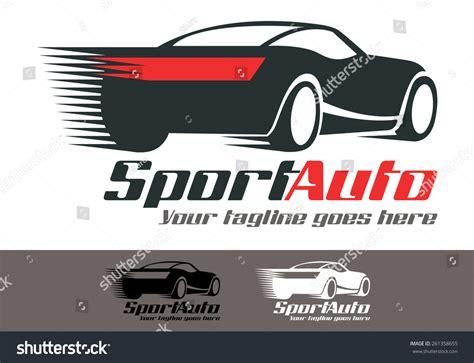 Velocity Card Template by Sport Car Fresh Modern Print Logo Stock Vector 261358655