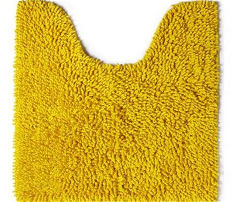 yellow pedestal mat bath spar