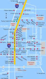 Las Vegas Hotel Maps by Las Vegas Hotels Map