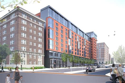 jhu housing construction begins on mixed use development project near jhu s homewood cus hub