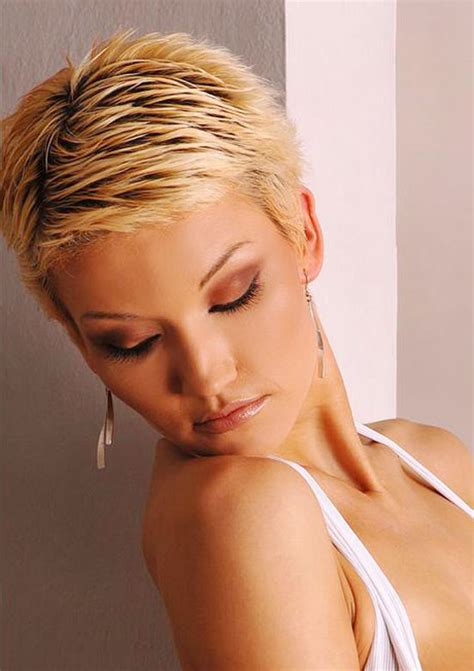 sexy hot back views of pixie hair cuts hairxstatic crops pixies gallery 9 of 9