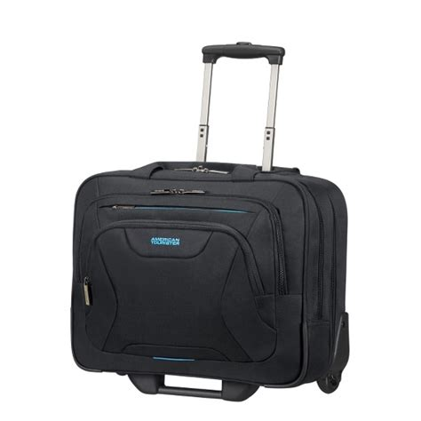 Tas Laptop American Tourister american tourister at work 15 6 laptop rolling tote cabin size 48cm