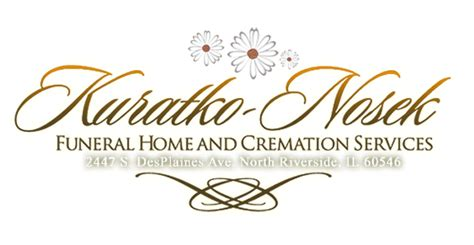 kuratko nosek funeral home and cremation services