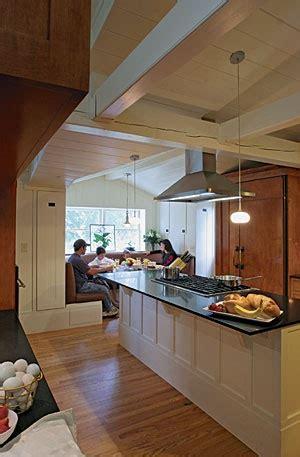 booth kitchen seating storage kitchen site house