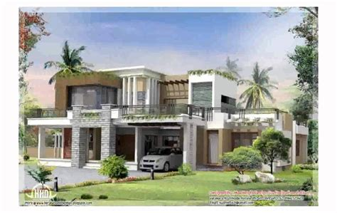 modern home design exles modern contemporary house design youtube