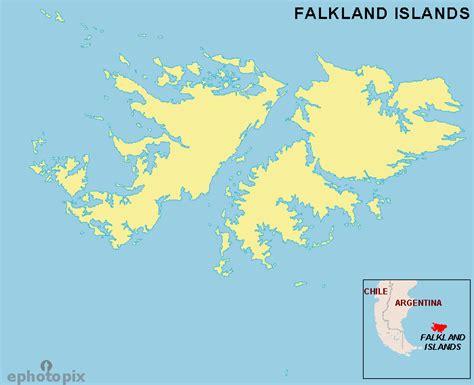 falkland islands on map falkland islands outline map falkland islands blank map