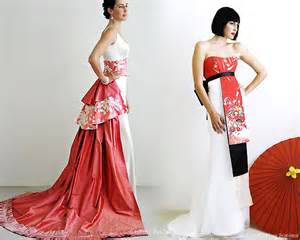asian western wedding dresses culture bridal couture fusion wedding wear wedding inspirasi