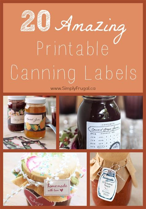 printable jam labels uk a round up of free printable canning labels