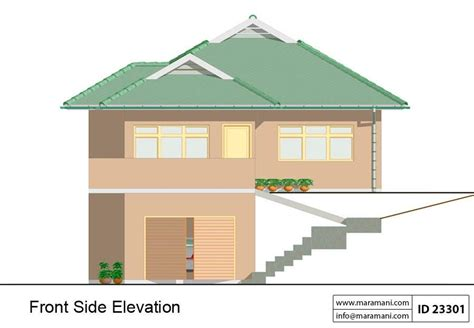 slope house plans with steep slope house plan 17422