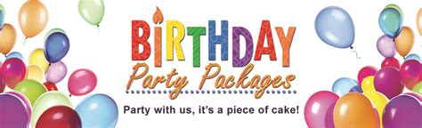 birthday party packages city  richmond hill