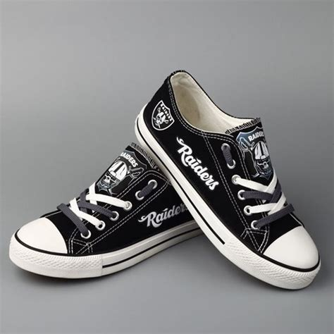 raiders sneakers 17 best images about oakland raiders fashion style fan