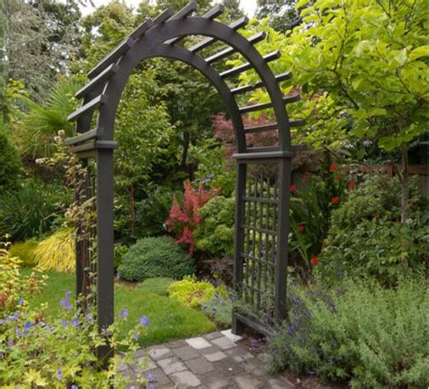 Garden Entrance Arbor Ideas Garden Entrance Arbors And Garden Arches And Pergolas