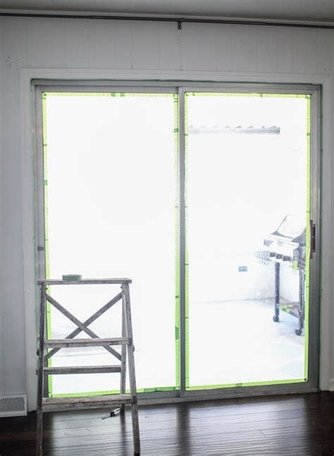 Sliding Patio Door Frame Painted Sliding Glass Doors One Less Eyesore Lovely Etc