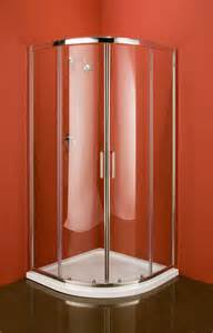 Quadrant shower enclosure corner shower unit